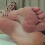 Beautiful Milf Teasing With Her Soles
